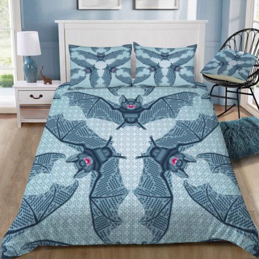 chobopop geometric bat pattern square tray top
