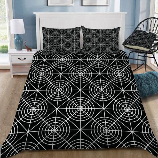 fimbis circle squares black and white square tray top