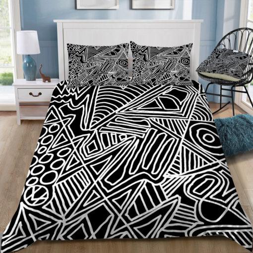 fimbis monochrome chaos square tray top