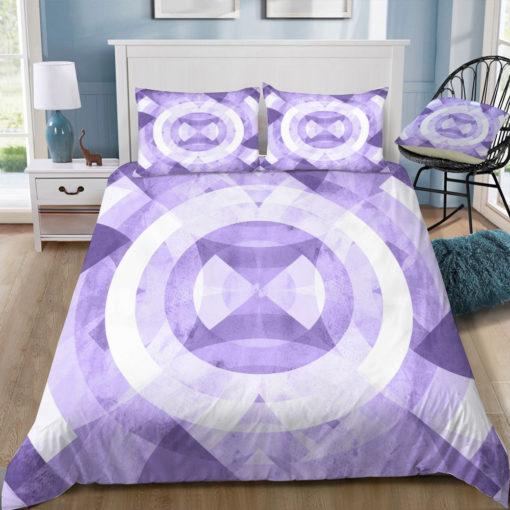 fimbis violet circles square tray top