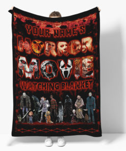 Personalized Name This Is My Horror Movie Watching Blanket